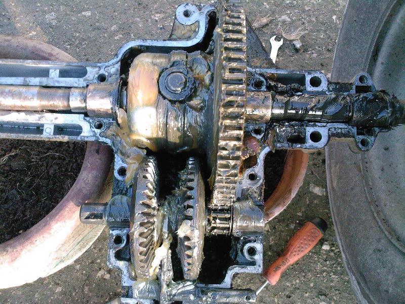 Probleme boite de vitesse tracteur tondeuse mtd