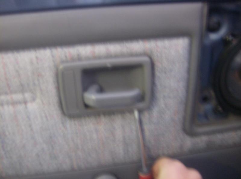 205 toutes g n rations changement barillet de porte tuto - Changer un barillet ...