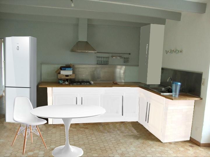 Cuisine Ikea Blanche Et Bois Couleur Pour Cuisine U2013