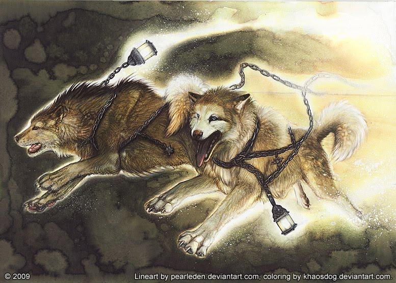 Skoll and Hati