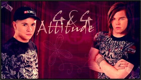 Georg und Gustav Attitude