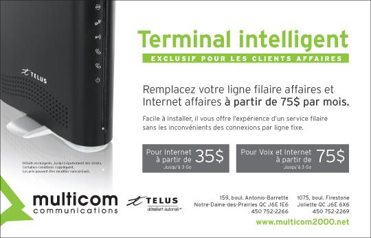 Le terminal intelligent de Telus