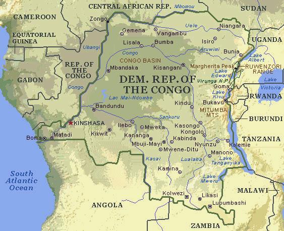 rivière afrique centrale