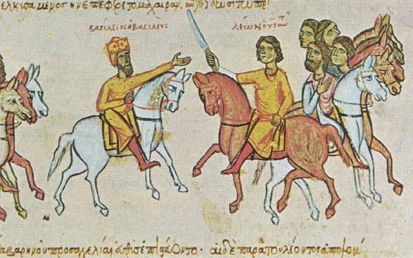 Empereurs Basile I et Léon VI