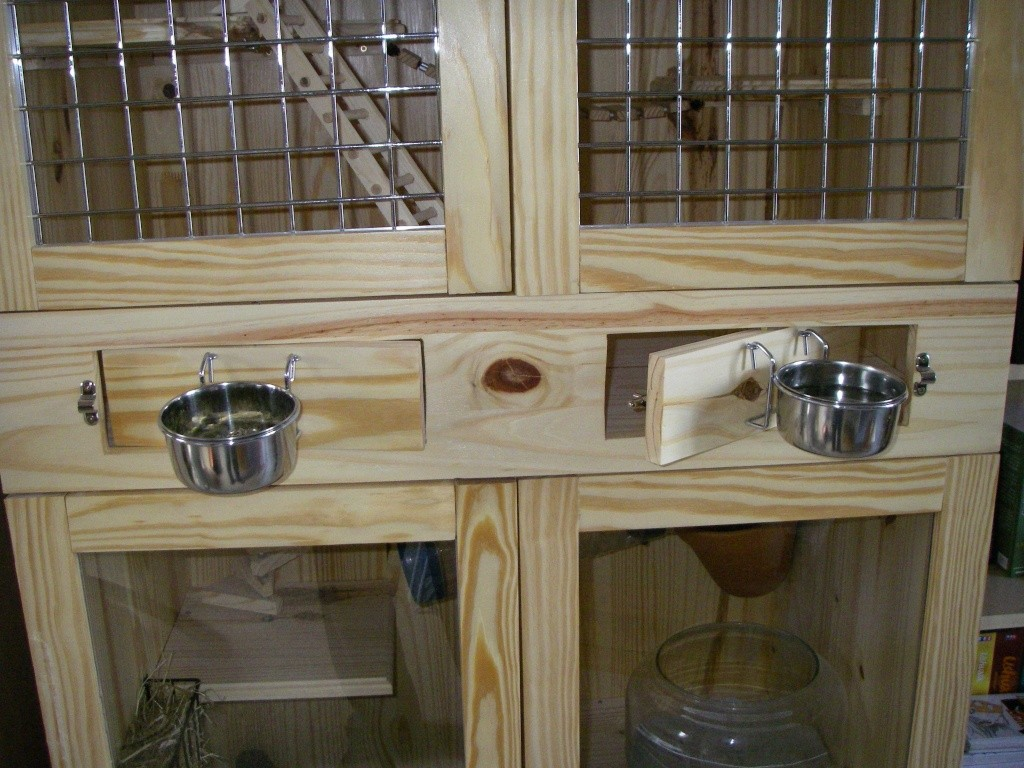 Plan cage chinchilla fait maison ventana blog for Accessoire furet fait maison