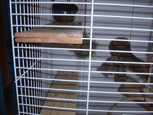 comment fixer des etagere sur une cage. Black Bedroom Furniture Sets. Home Design Ideas