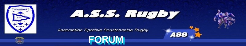 FORUM de l'AS SOUSTONS rugby