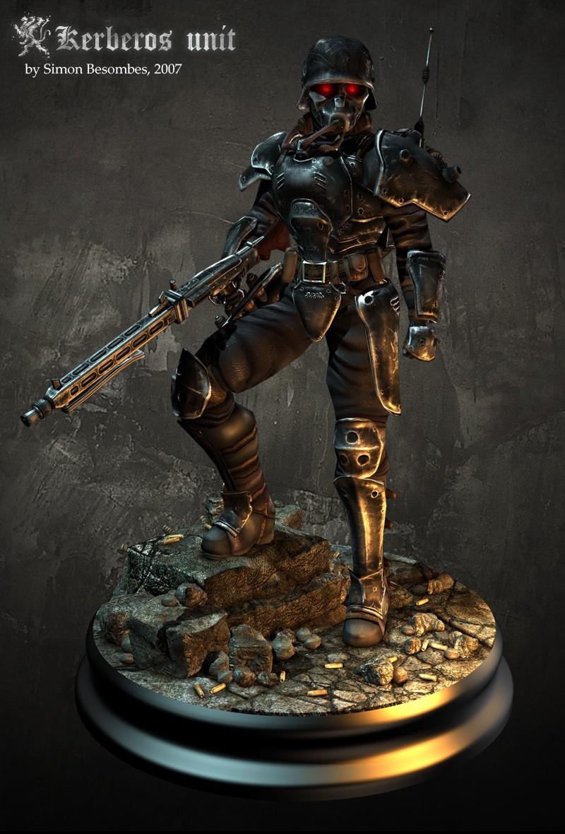 Sexy power armor