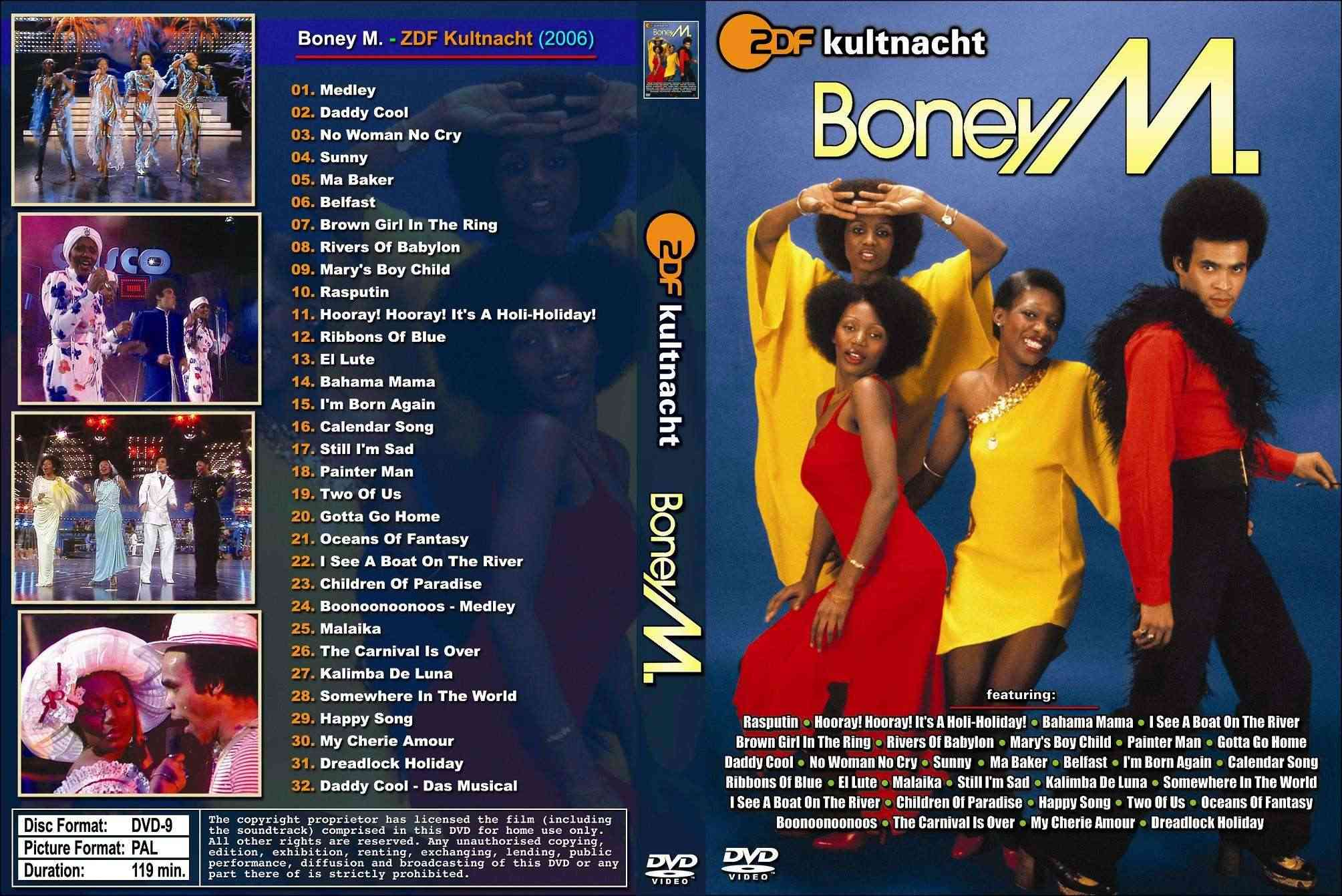 Boney M. - ZDF Kultnacht - 2DVD (2006) Boney M. - ZDF Kultnacht - Satrip