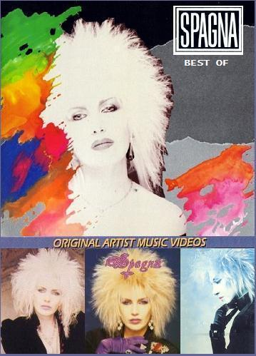 Spagna - Best Of (DVD) (2003) RARE