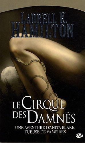 anita blake 3 le cirque des damnés circus of the damned laurell k hamilton anita jean-claude richard vampire loup-garou