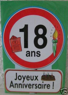 Joyeux anniversaire k vin - Cadeau d anniversaire 18 ans ...