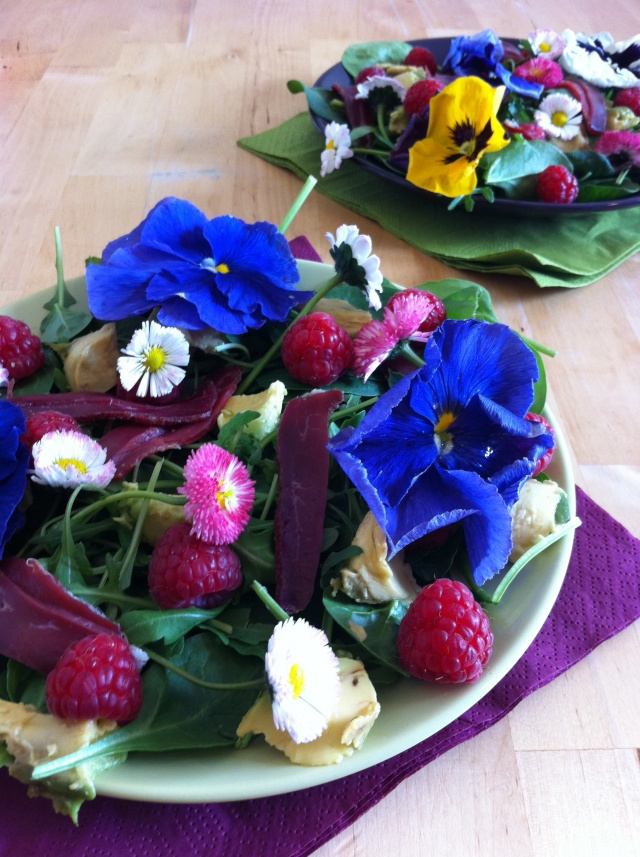 #6 Salade fleurie, jolie, jolie