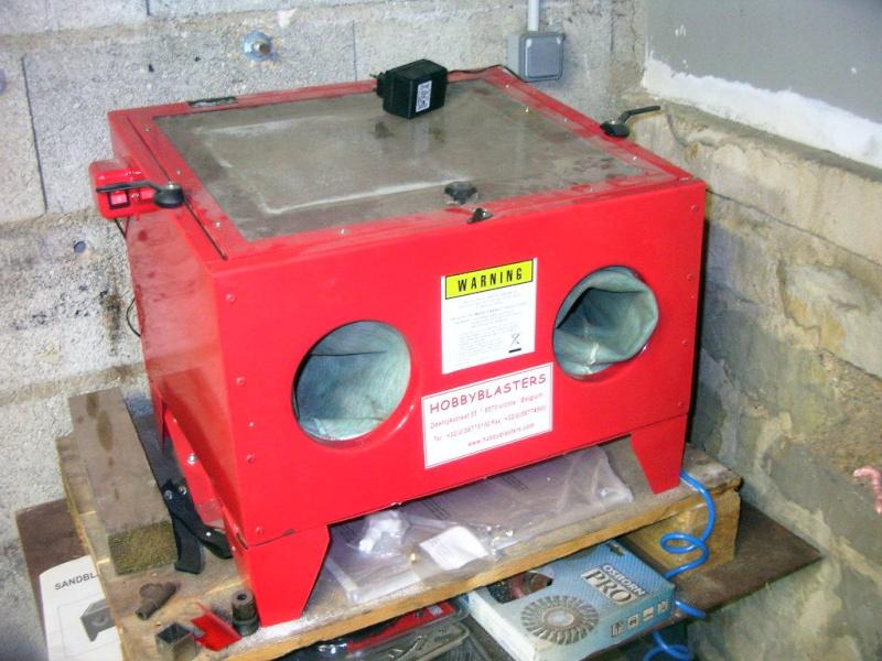 Sablage et electrolyse - Compresseur pour sablage ...