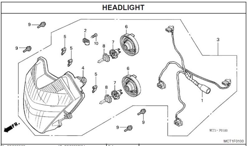 diy headlight wiring harness  diy  free engine image for