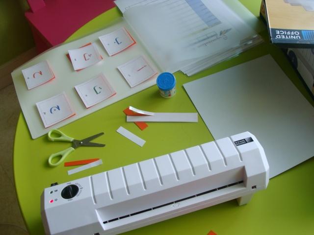 Muslim home school cartes sur les houroufs l 39 alphabet arabe - Comment plastifier une photo ...