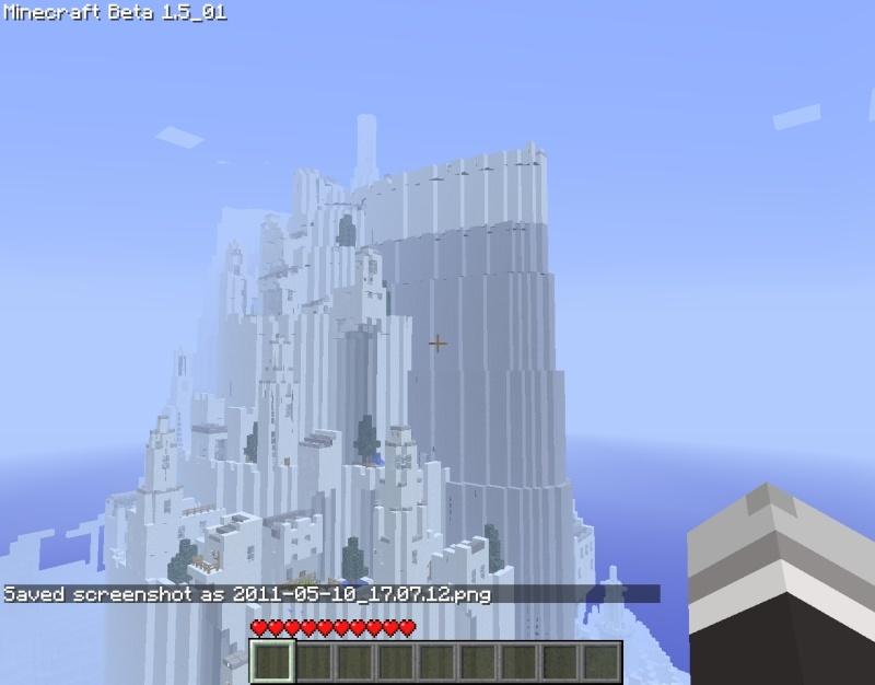 minas tirith minecraft. May I present, Minas Tirith.
