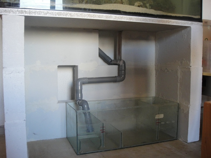Fabrication meuble aquarium siporex - Meuble aquarium sur mesure ...