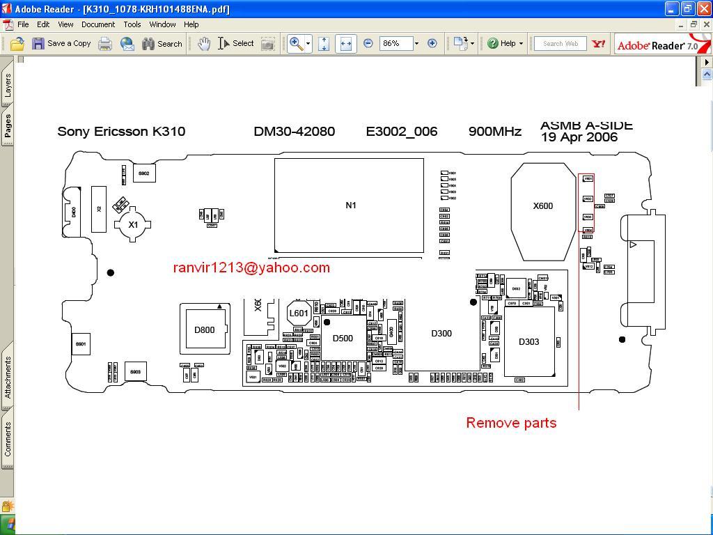 Wyświetlacz LCD Sony Ericsson T230