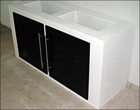 Meuble siporex - Meuble salle de bain siporex ...