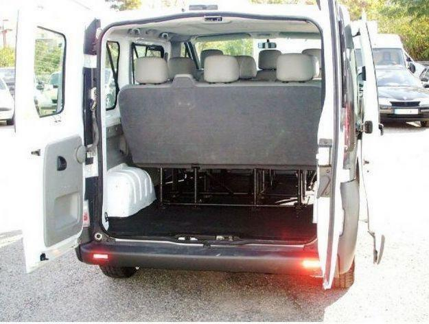 renault trafic 9 places coffre. Black Bedroom Furniture Sets. Home Design Ideas