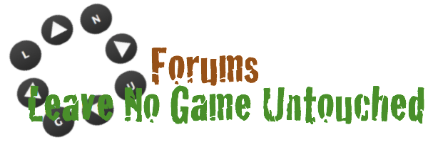 Leave No Game Untouched: Official Forums