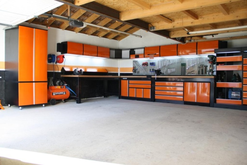 Le garage de mon papa - Idee amenagement garage ...