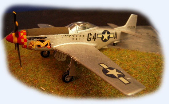 P51d charles e weaver 357th fg italeri 1 72 for Air force decoration points
