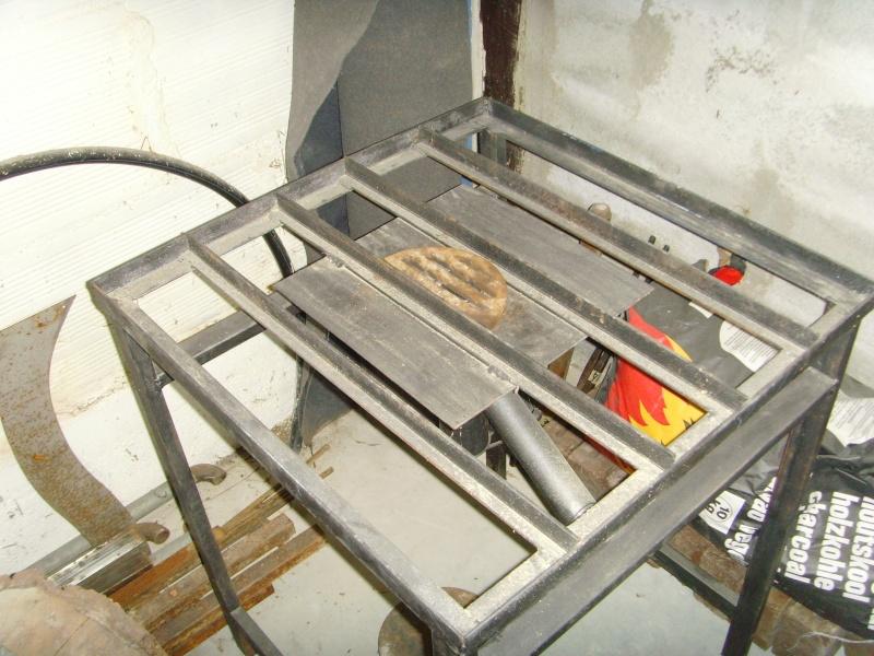 Plan Foyer De Forge : Fabrication d une petite forge