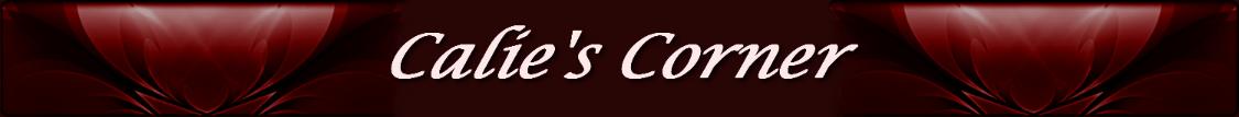 Calie's Corner